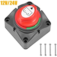 Universal Car Auto Battery Link Terminal Switch-off Switch Master Disconnect Isolator Noir Black, Red Gorgeri Cut-off Switch