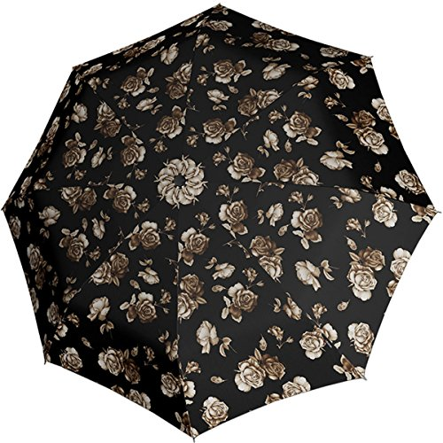 knirps-fiber-t2-duomatic-umbrella-florals-roses-black