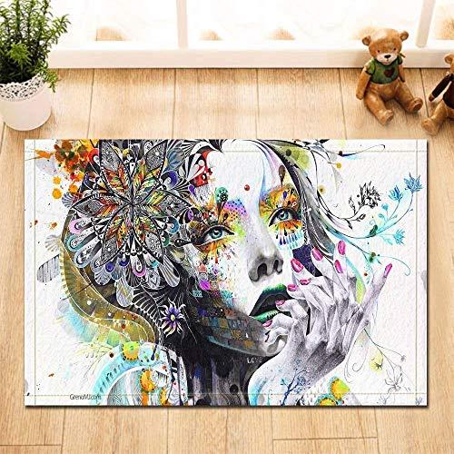 Kwboo Una Chica De Dibujo Coloreada Pintada Esmalte