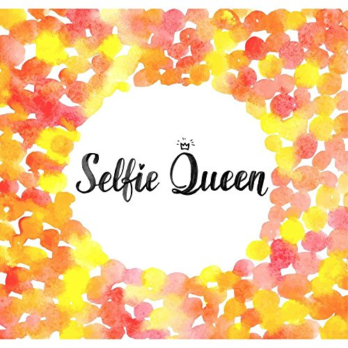 Pitaara Box Selfie Queen Canvas Painting MDF Frame 18.9 X 18Inch (Queen-size-split-box)