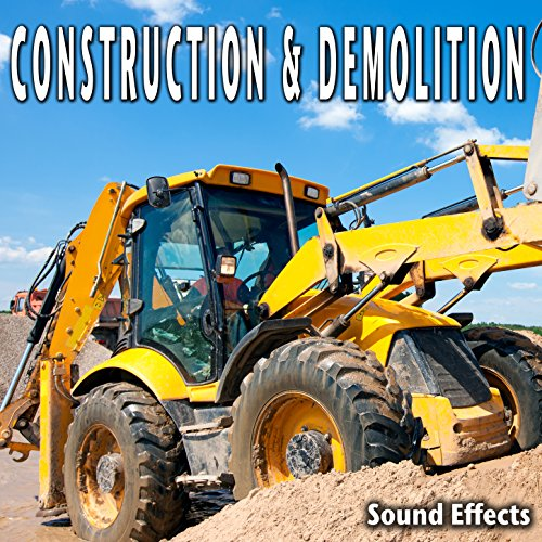 Excavation Ambience with Heavy Machinery, Graders, Roller and Excavators (Version 2)