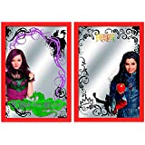 Kids Euroswan - Disney WD16744 wood wall mirror The Descendants - Color Assorted