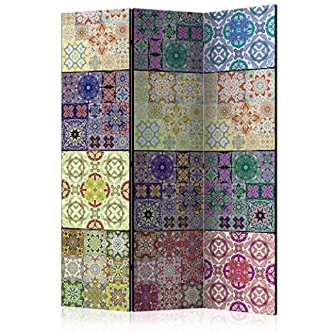 murando DECORATIVE FOLDING SCREEN | ROOM DIVIDER | 135x172 cm (53.15 by 67.72 in) | SINGLE-SIDED | SCREEN WALL | PHOTO | DESIGN |