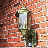 Antike Außenlampe mit Bewegungsmelder