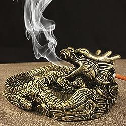 HYLR cenicero Creative Salón accesorios de la casa Resina estilo chino Dragón forma personalidad Cenicero decorativo