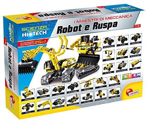 Lisciani Giochi 62409 Scienza Hi Tech Robot e Ruspa