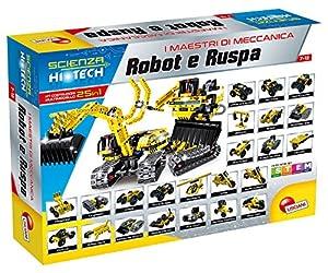 Lisciani Giochi: Juego Scienza Hi Tech (Idioma español no garantizado) Robot y Excavadora