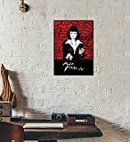 Tallenge - Hollywood Collection - Uma Thurman in Pulp Fiction Digital Art - A3 Size Premium Quality Rolled Poster