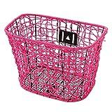 MV-TEK Korb vorne Kunst PVC pink (Körben Zyklus)/Basket Fron Kunst PVC pink (Bike Basket)