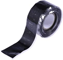 Vosarea 3M Electrical Tape High Temperature Resistance Electrical Insulation Tape for Industrial Uses (Black)