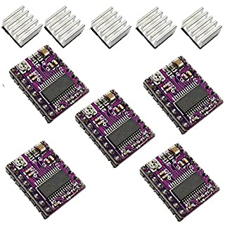 Aiskaer 5 Pcs StepStick 4-layer DRV8825 Stepper Motor Driver Module for 3D Printer Reprap RP A4988