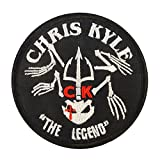 Chris Kyle American Sniper The Legend Navy Seal Team DEVGRU Morale Sew Iron on Aufnäher Patch