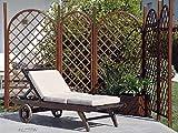 Verdemax 81461,82x 0,62m PINO EUROPEO fisso Graticcio con cornice curva, colore: marrone