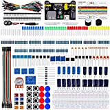 Emakefun Electronic Component Fun Kit w/ Jumper Wire,Potentiometer,Breadboard,Resistor,Capacitor,LED for Arduino UNO,MEGA2560,Raspberry Pi (CP-StartKit)
