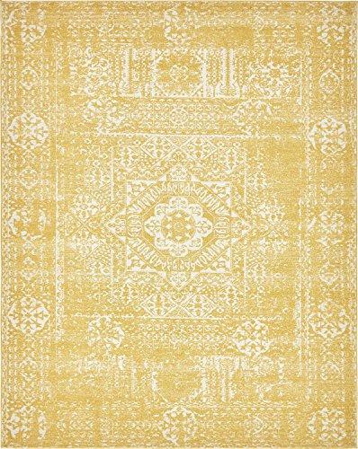 Traditionelle Tradition Bereich Teppich, Polypropylen, gelb, 8 x - Bereich Teppich 8x10