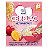 #7: Nestlé Cerelac Fortified Baby Cereal with Milk – 12 Months+, Stage 4, Multigrain & Fruits, 300g