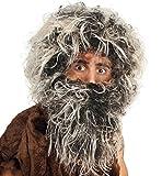 Perücke Neandertaler mit Bart