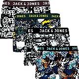 Jack & Jones Boxershorts 4er Pack Trunks Boxer Shorts Unterhose CORE S M L XL XXL (M, 4er Pack Colored #37)
