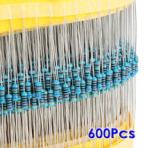 SODIAL (R) 600pz 30 tipi Valore 1% 0.25W 1 /
