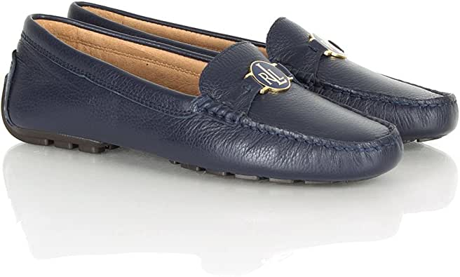 Ralph Lauren Carley Pump Navy Leather