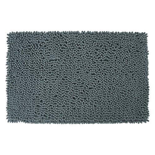 Differnz 31.220.43ciniglia Shaggy tappeto di Bagno, Grigio