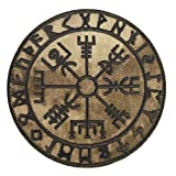 2AFTER1 Arid A-TACS AU Vegvisir Viking Compass Norse Rune Morale Fastener Patch