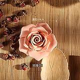 OYBB Ornamenti Statue Ceramica Creativa Fiore Linea Rossa Bruciatore di incenso Bastone di incenso Bastone di incenso Linea Incenso Bobina Brucia incenso Camera da Letto Porta incenso Rosa