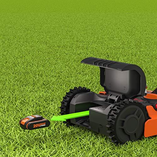 Worx Landroid M WR143E Mähroboter / Akkurasenmäher für Gärten bis 1000 qm / Selbstfahrender Rasenmäher für einen ordentlichen Rasenschnitt - 7