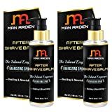 Man Arden After Shave Balm - The Island Emperor (Energing Sport) - Healing & Nourishing 100ml (Pack Of 2)