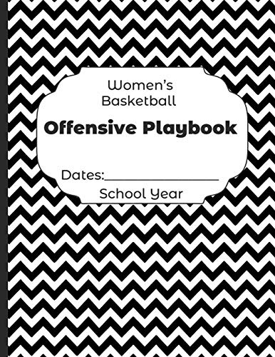 Womens Basketball Offensive Playbook Dates: School Year: Undated Coach Schedule Organizer For Teaching Fundamentals Practice Drills, Strategies, ... Development Training and Leadership Program
