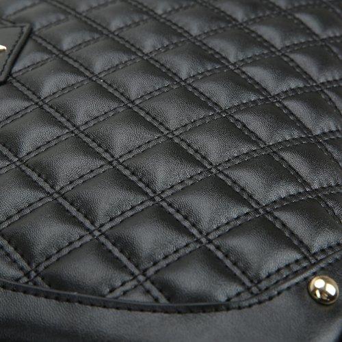 E-Girl Q0443 donna Borse a spalla,Borse a tracolla29x20x11 cm (B x H x T) Black
