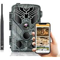 SUNTEKCAM 4G Caméra de Chasse 20MP 1080P Transmission réseau cellulaire Caméra de Surveillance Étanche 36 LEDs Caméra De…