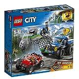 LEGO City Bergpolizei Verfolgungsjagd auf Schotterpisten 60172 Unterhaltungsspielzeug