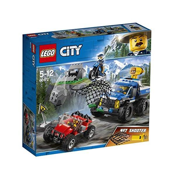 LEGO- City PoliceDuello Fuori Strada, Multicolore, 60172 4 spesavip