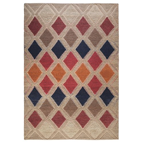 The Rug Republic Tapis Jovan Naturel/Multicolore