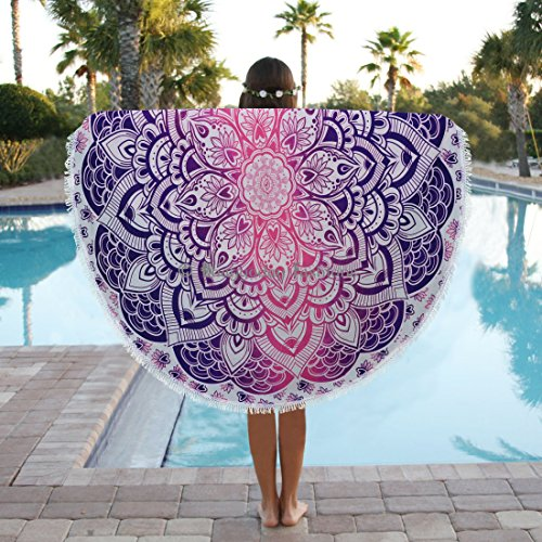 ronde-ombre-indien-mandala-tapisserie-plage-coton-couverture-boho-roundies-couvre-lit-cercle-mandala