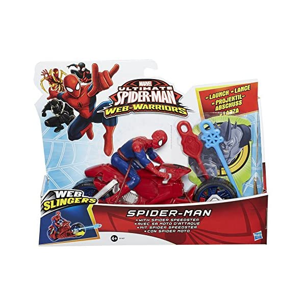 Marvel Ultimate Spider-Man - Web Slingers Racers - araña araña Speedster 2