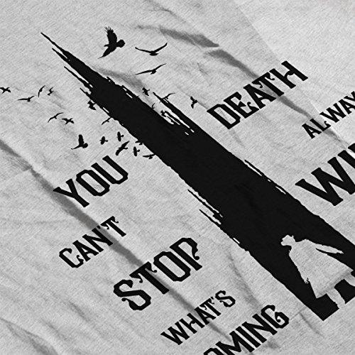 The Dark Tower Gunslinger Death Always Wins Black Men's Vest Heather Grey