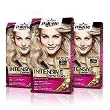 Palette Intense Cream Coloration Intensive Coloración del Cabello 8.1 Rubio Claro Ceniza - Pack de 3