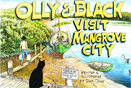 Olly & Black visit Mangrove City (English Edition)
