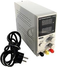 ECO-WORTHY Labornetzgerät, Einstellbar, Digitalanzeige, Linear Geregelt, Variabel 0-30 V/DC, 0-5A