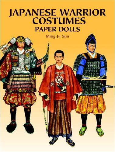 Japanese Warrior Costumes Paper Dolls (Dover Paper Dolls)
