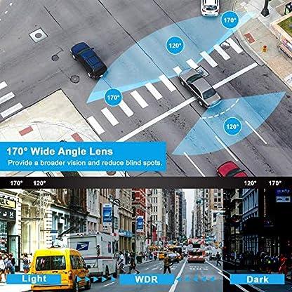 Dashcam-Vorne-und-HintenYUNDOO-Dashcam-Autokamera-1080P-FHD-4IPS-Bildschirm-mit-32-GB-SD-Karte-170–Weitwinkel-G-Sensor-Schleifenaufzeichnung-Nachtsicht-Bewegungserkennung-und-WDR