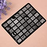 New 1pc New Stamping Nail Art Templates ...
