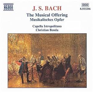 Bach: Musikalisches Opfer Benda