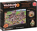 """Wasgij 19123 """"Back to 2 A 14th Century Castle"""" Jigsaw Puzzle (1000-Piece)"""