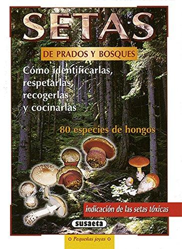 Setas De Prados Y Bosques (Pequeñas Joyas) por Equipo Susaeta