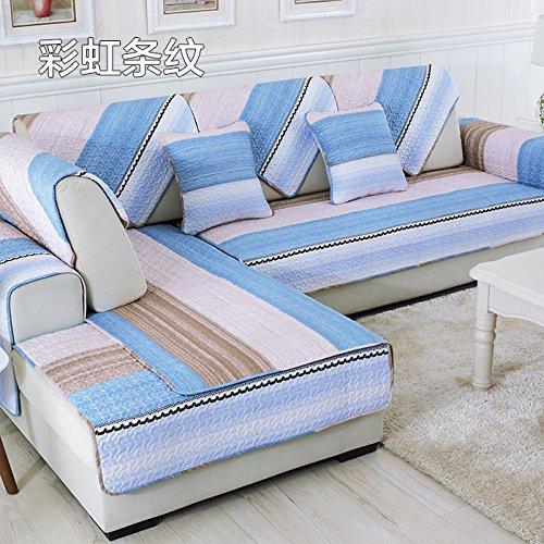 HL-Cuscino per divani, Tessuto, Slip di Cotone, Moderno Semplice ...