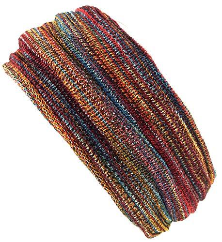 Guru-Shop Magic Hairband, Dread Wrap, Schlauchschal, Stirnband, Mütze - Regenbogen, Herren/Damen, Mehrfarbig, Baumwolle, Size:One Size, Stirnbänder Alternative Bekleidung