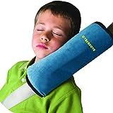 CYBERNOVA arresto per cintura auto, ideale come cuscino supporto per la testa,sicurezza in auto per bambini cuscino…
